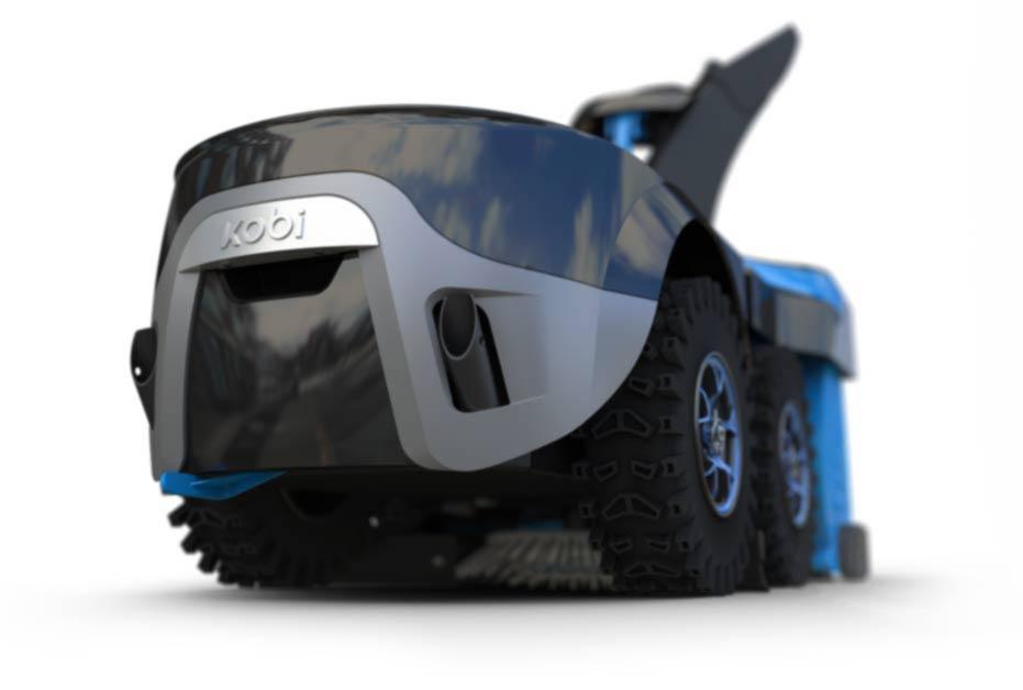 Kobi, Your fully autonomous multifunctional yard robot - The Kobi